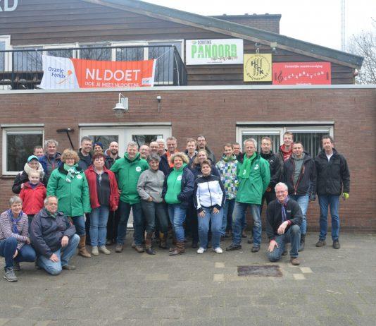 ATOS RTV Persbericht Veel vrijwilligers actief bij NLdoet op Scouting Panoord